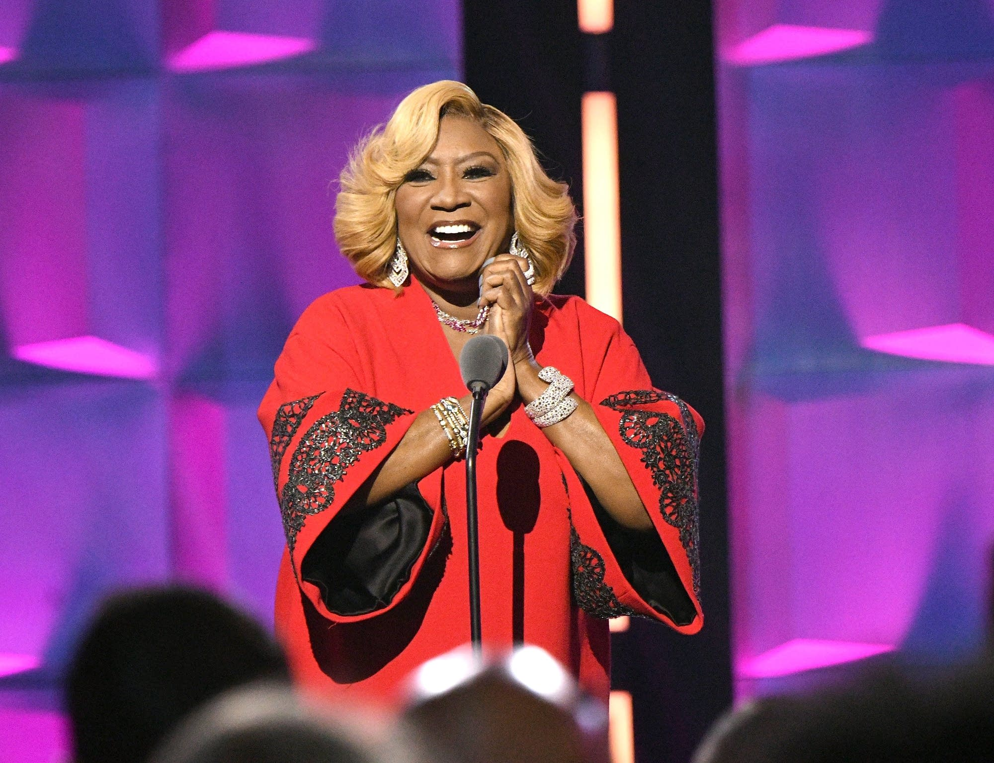 Patti LaBelle onstage in New York