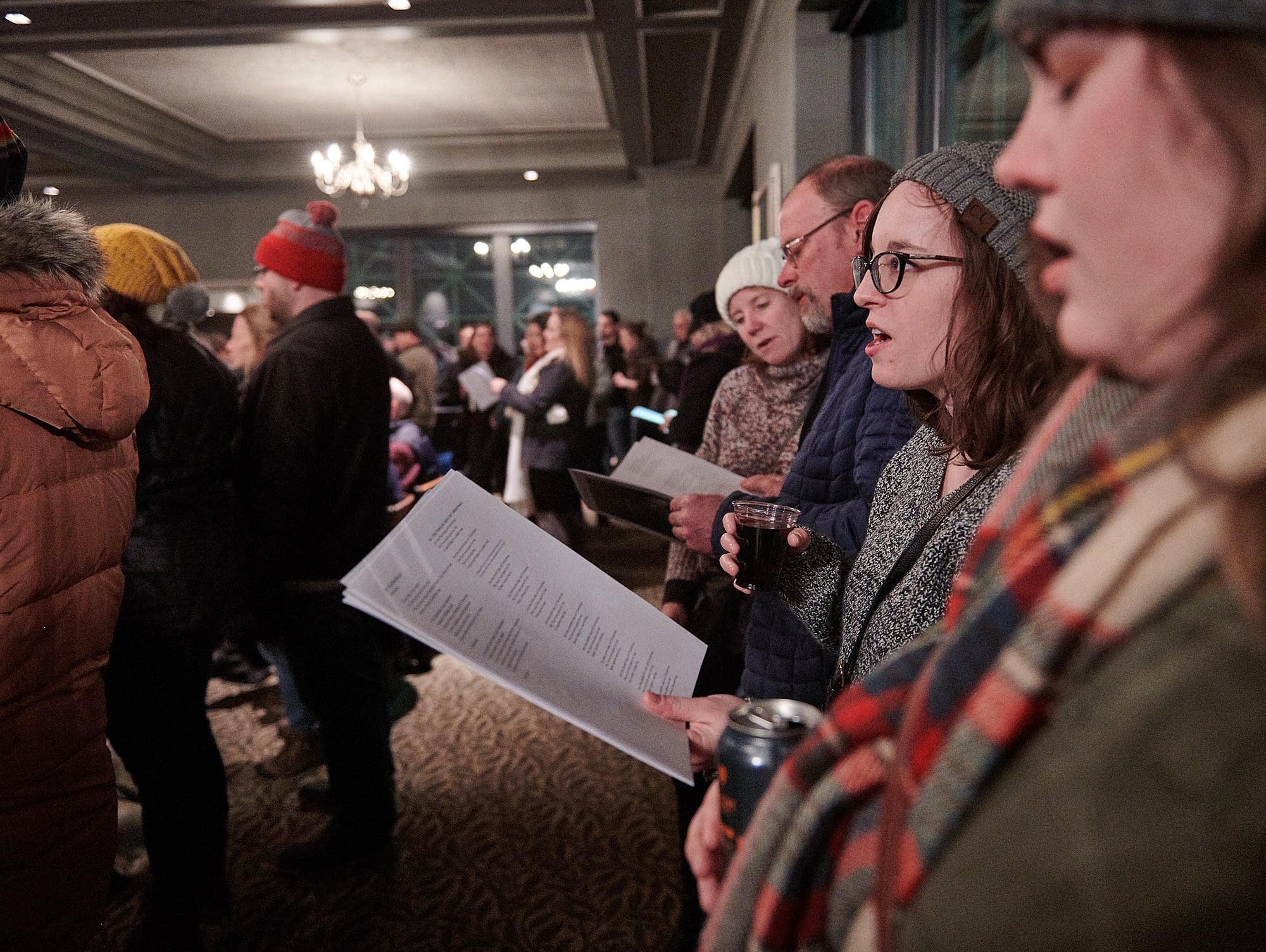 Bring the Sing takes over Como Park Pavilion for the winter solstice.