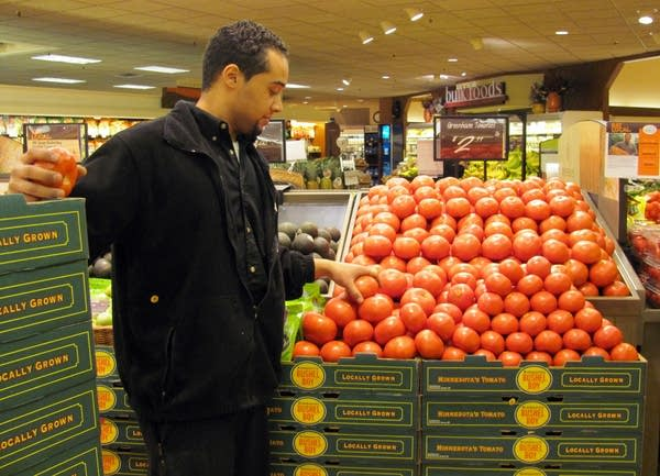 Minnesota-grown tomatoes