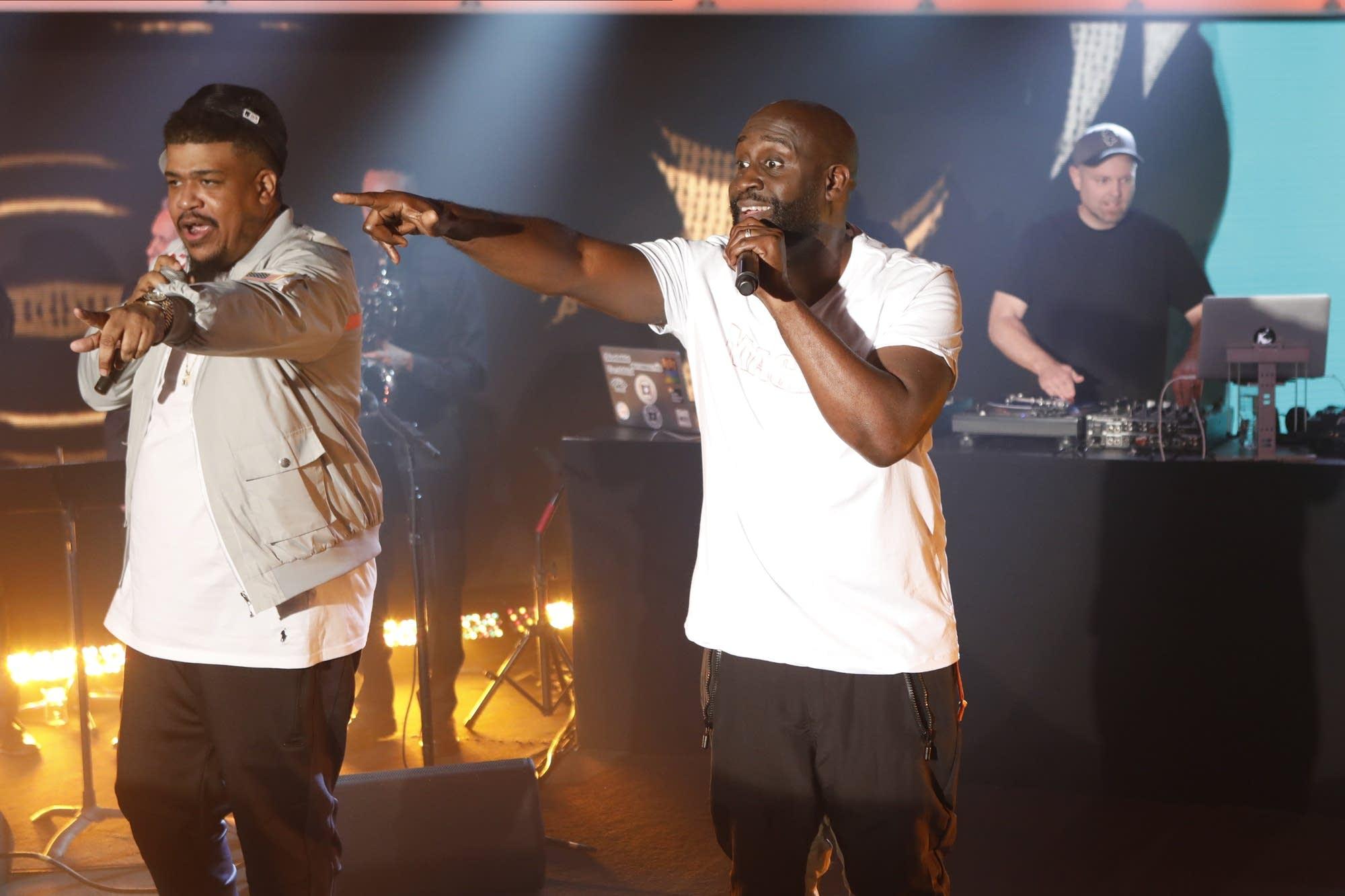 DJ Shadow feat De La Soul on Jimmy Kimmel Live
