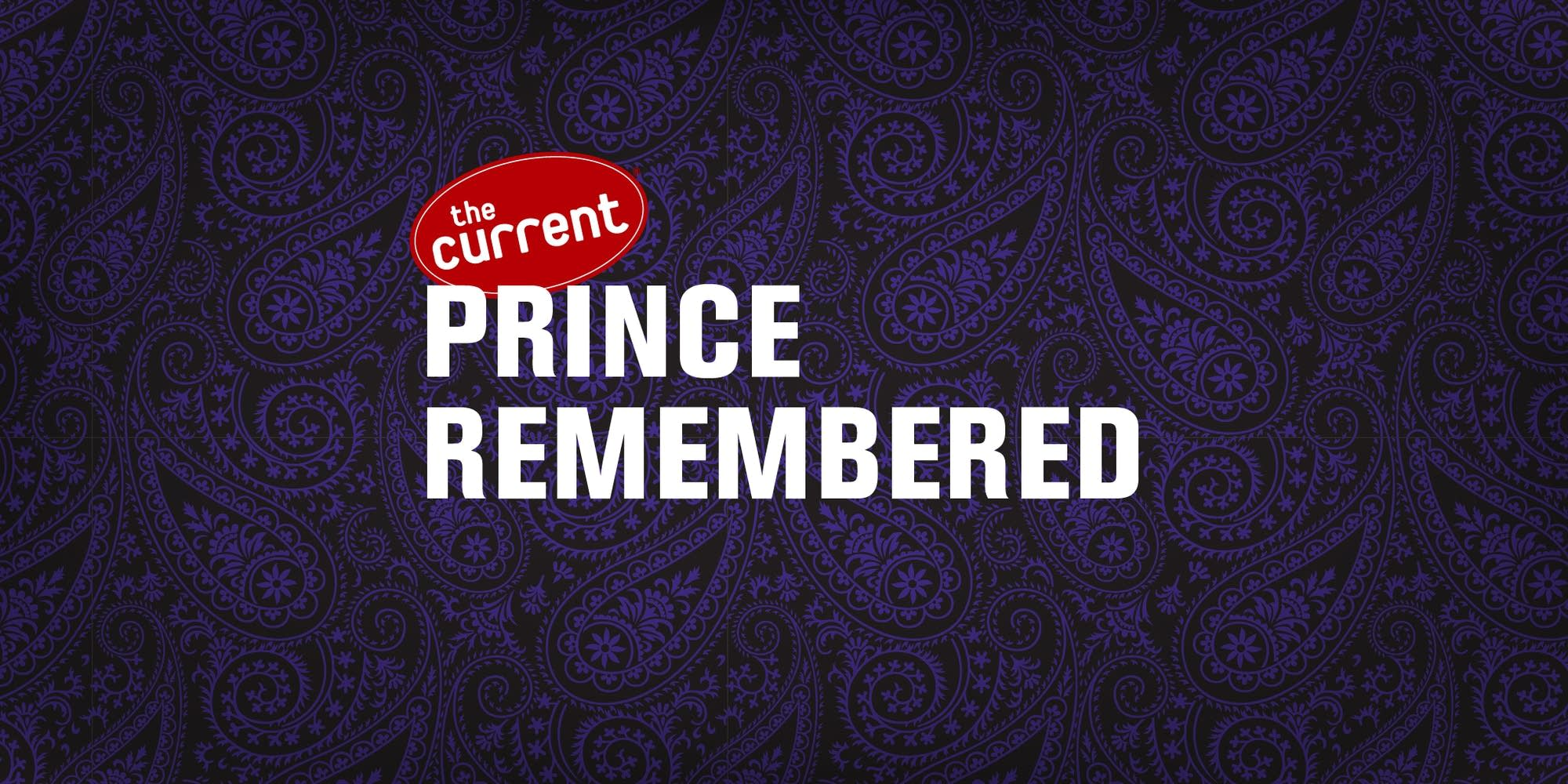 Prince Remembered graphics 2021; 1024x512