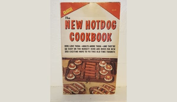 "Photo of vintage paperback ""The New Hotdog Cookbook"""