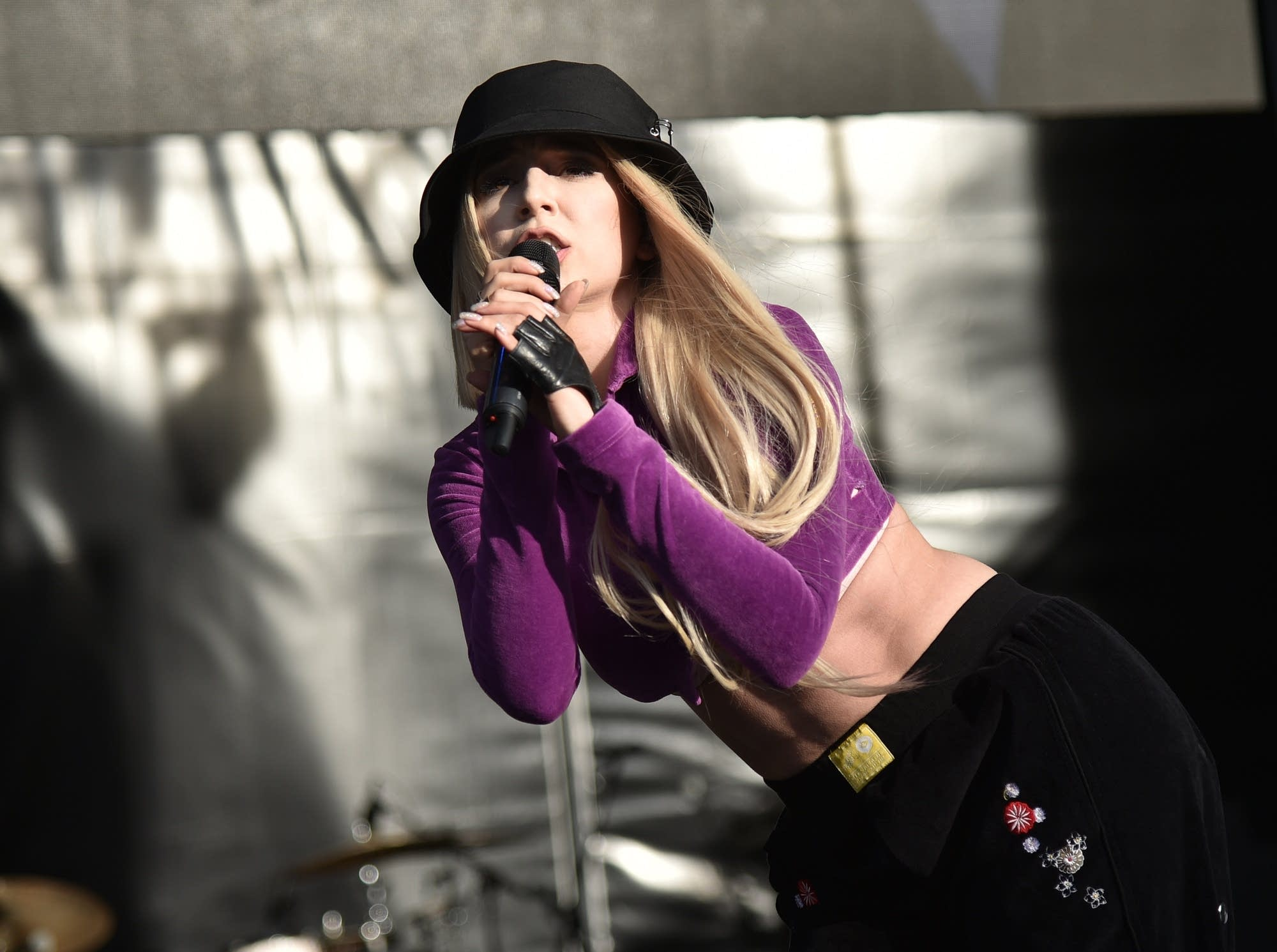 Ava Max performs in Wantagh, New York