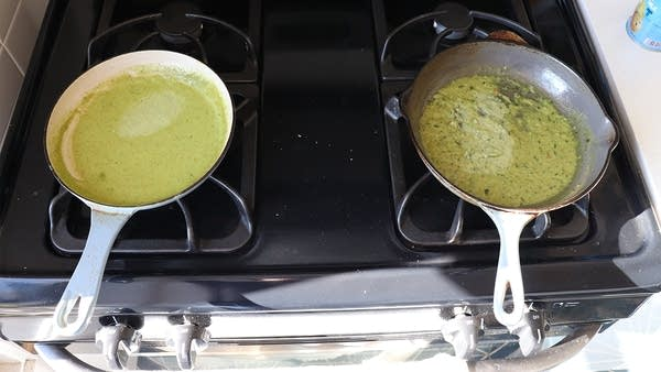 Green Curry Paste Side by Side