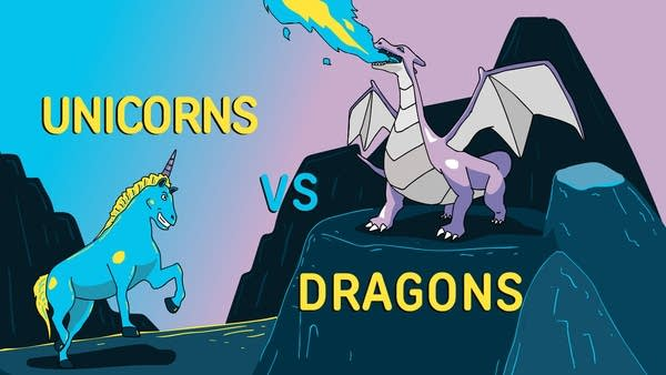 Unicorns vs Dragons