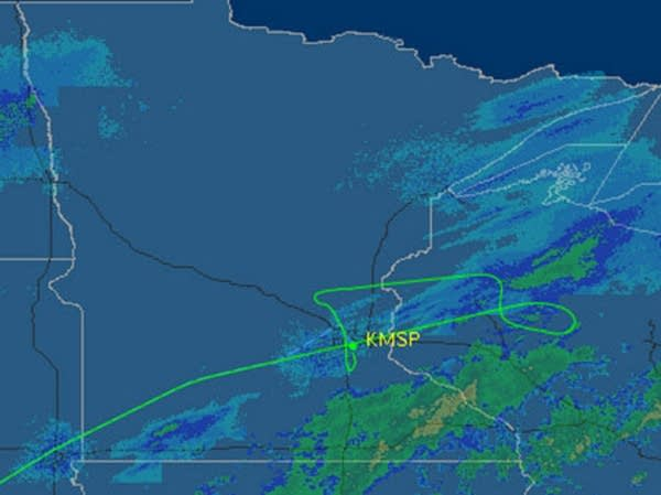 Airline flight route