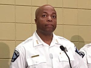 Acting police chief Medaria Arradondo talks about new policy for body cams.