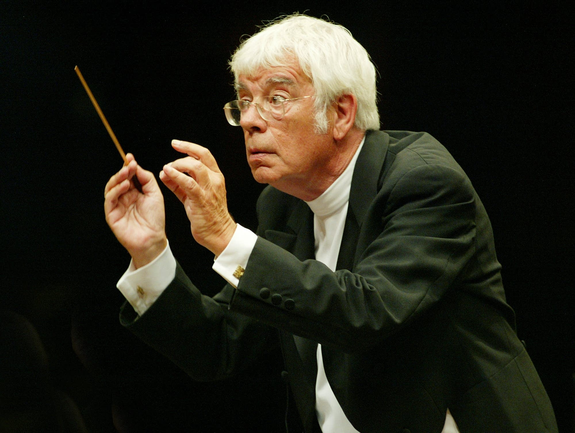 German conductor Helmuth Rilling
