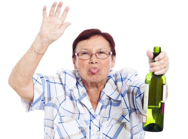 drunk ciotka