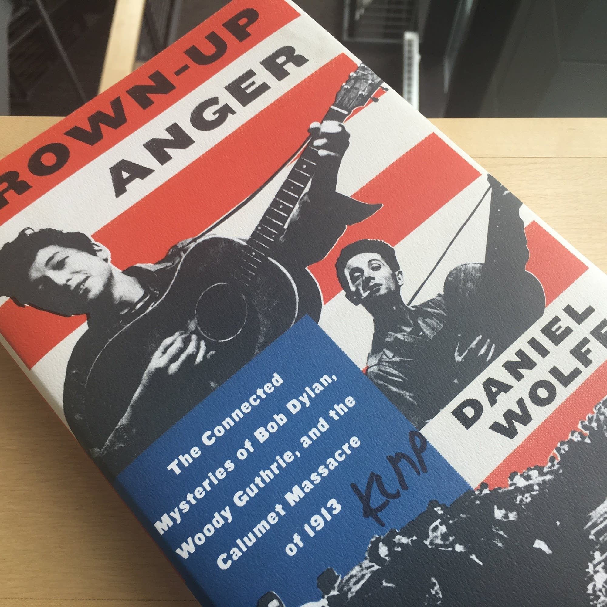 Daniel Wolff's 'Grown-Up Anger'