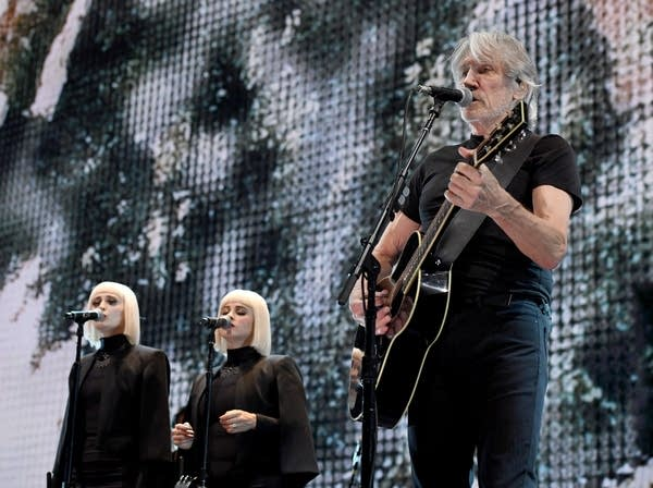 Lucius with Roger Waters