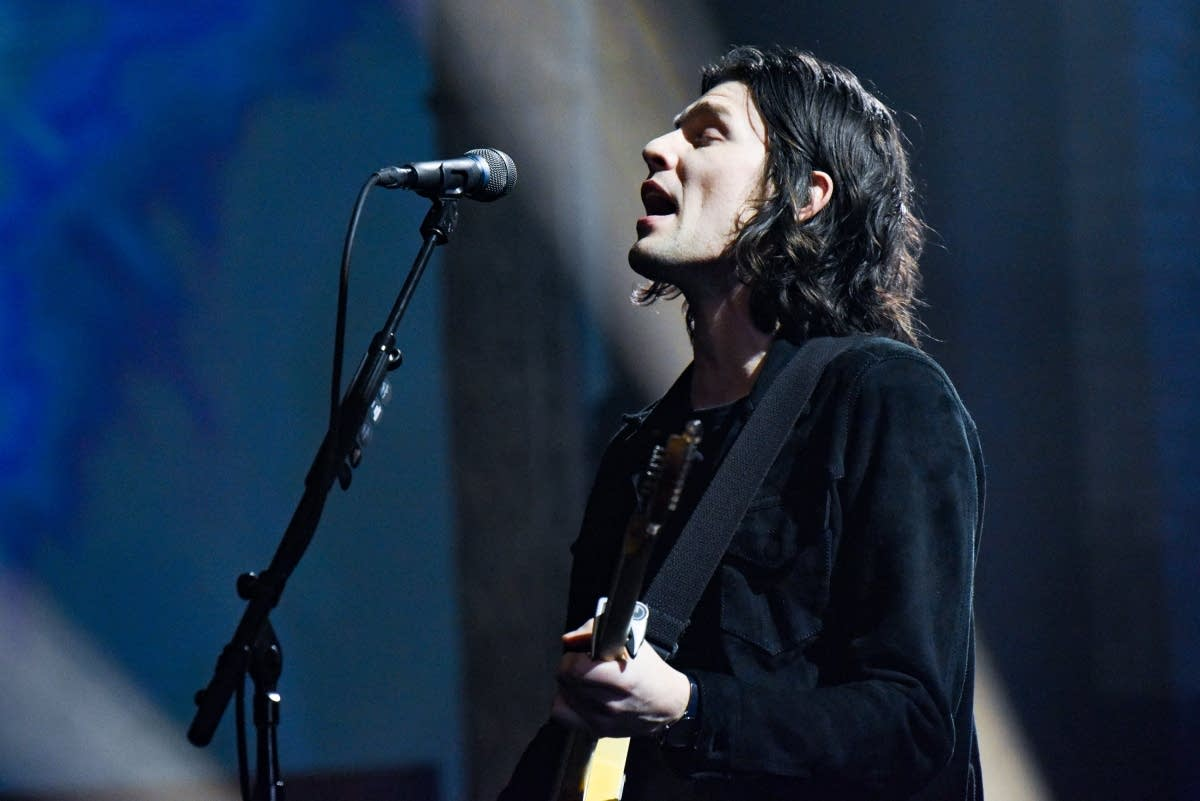 James Bay performs on 'The Late Show with Stephen Colbert'