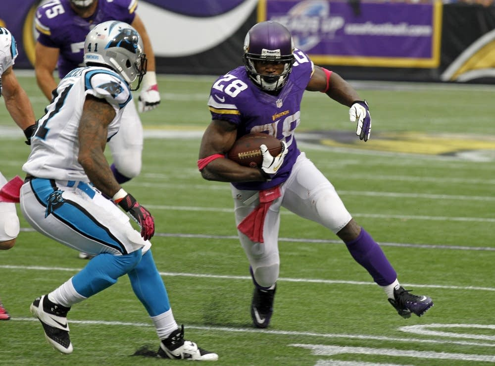 Adrian Peterson, Captain Munnerlyn