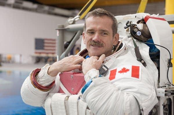 Astronaut Chris Hadfield, 2012