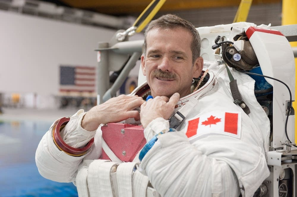 Astronaut Chris Hadfield, 2012
