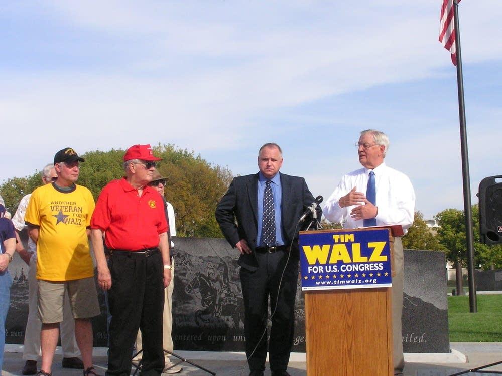 Walz and Mondale