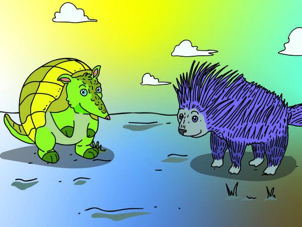 Armadillos vs Porcupines