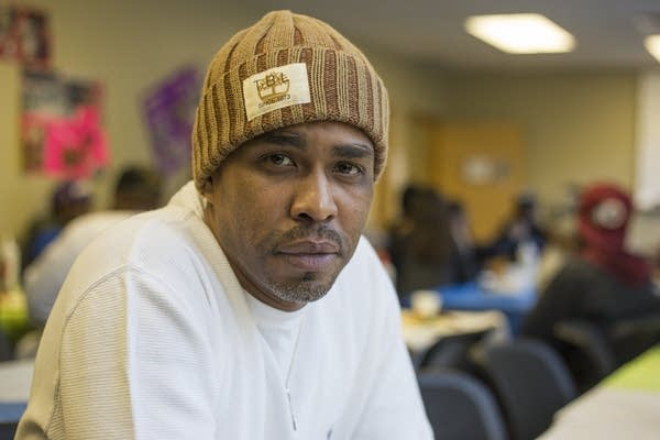 Ujamaa Place Housing Director Richard McLemore II poses on Tuesday.