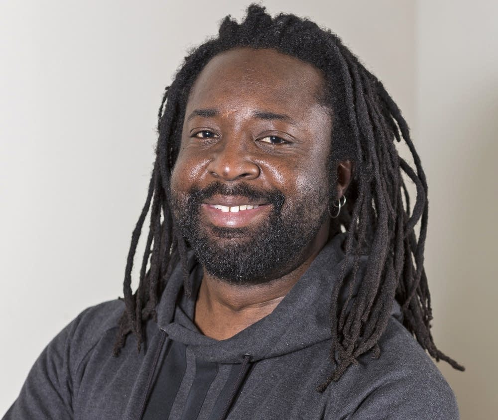 Marlon James is an author and a professor.