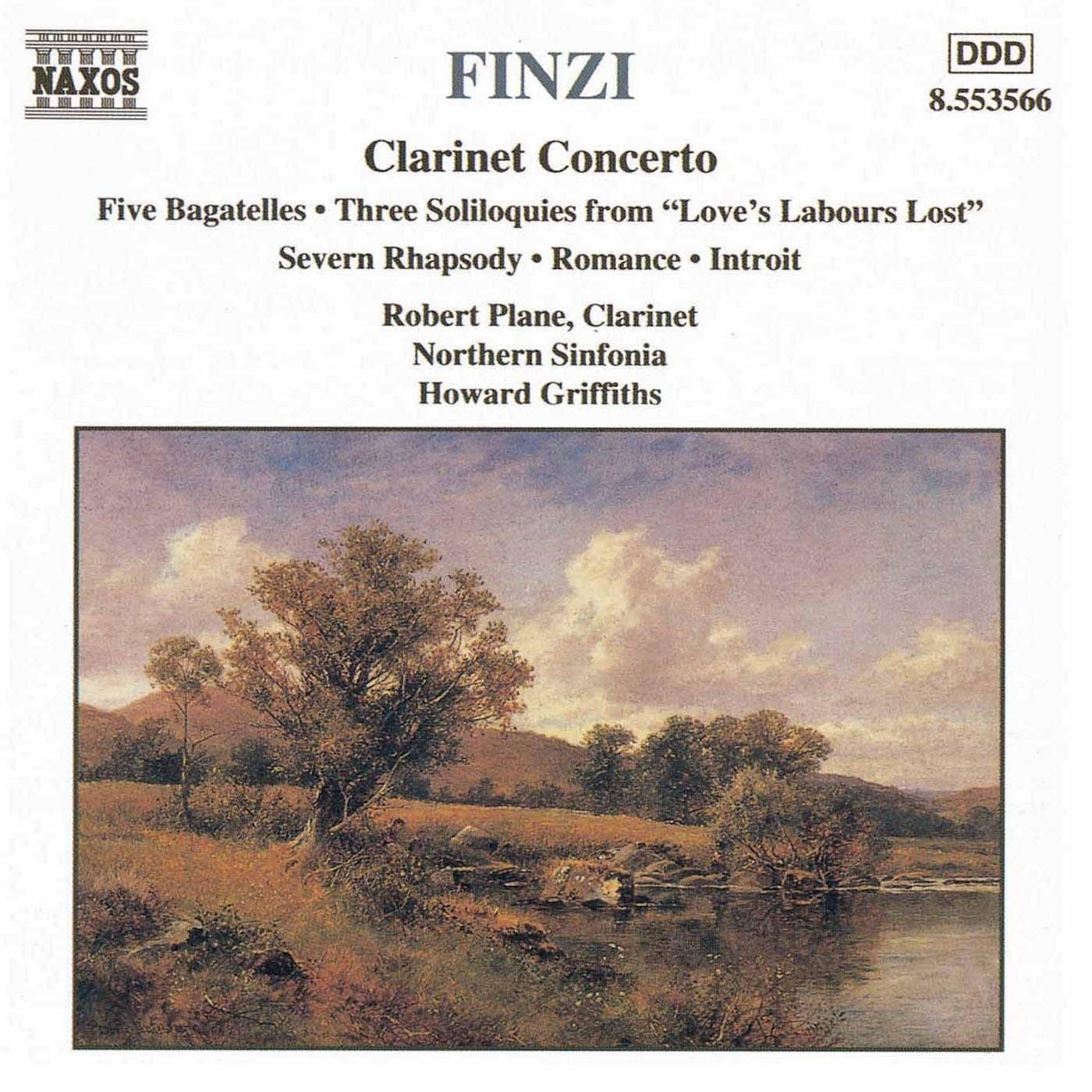 Gerald Finzi - Clarinet Concerto: II. Adagio, ma senza rigore