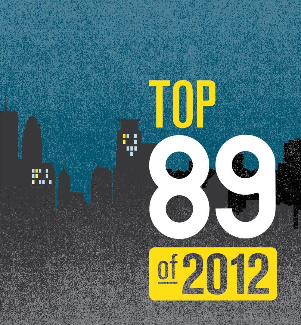 Top 89 of 2012