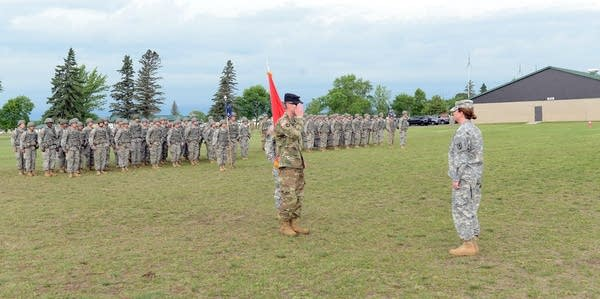 Lt. Col. Baker took command of the 1st Battalion, 175th Regiment in 2016.