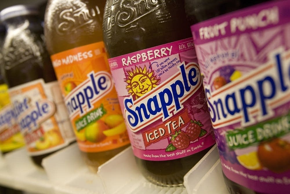 Snapple beverages