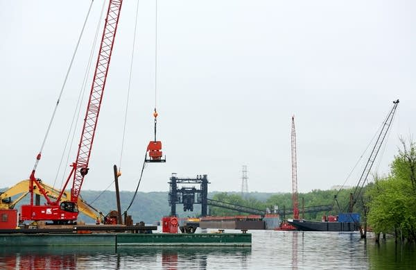 St. Croix Crossing work