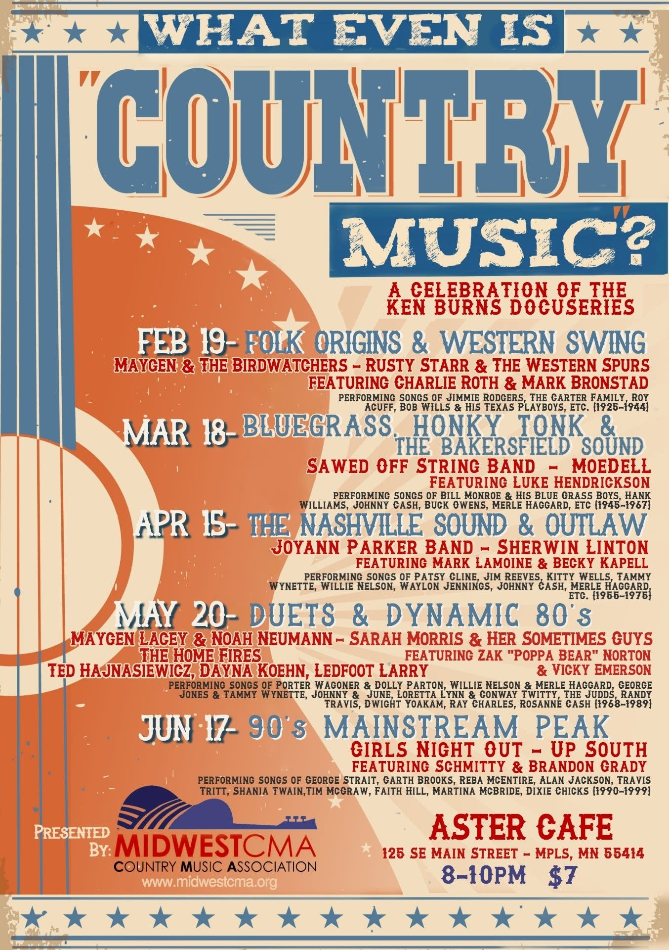 What Even Is Country Music event poster
