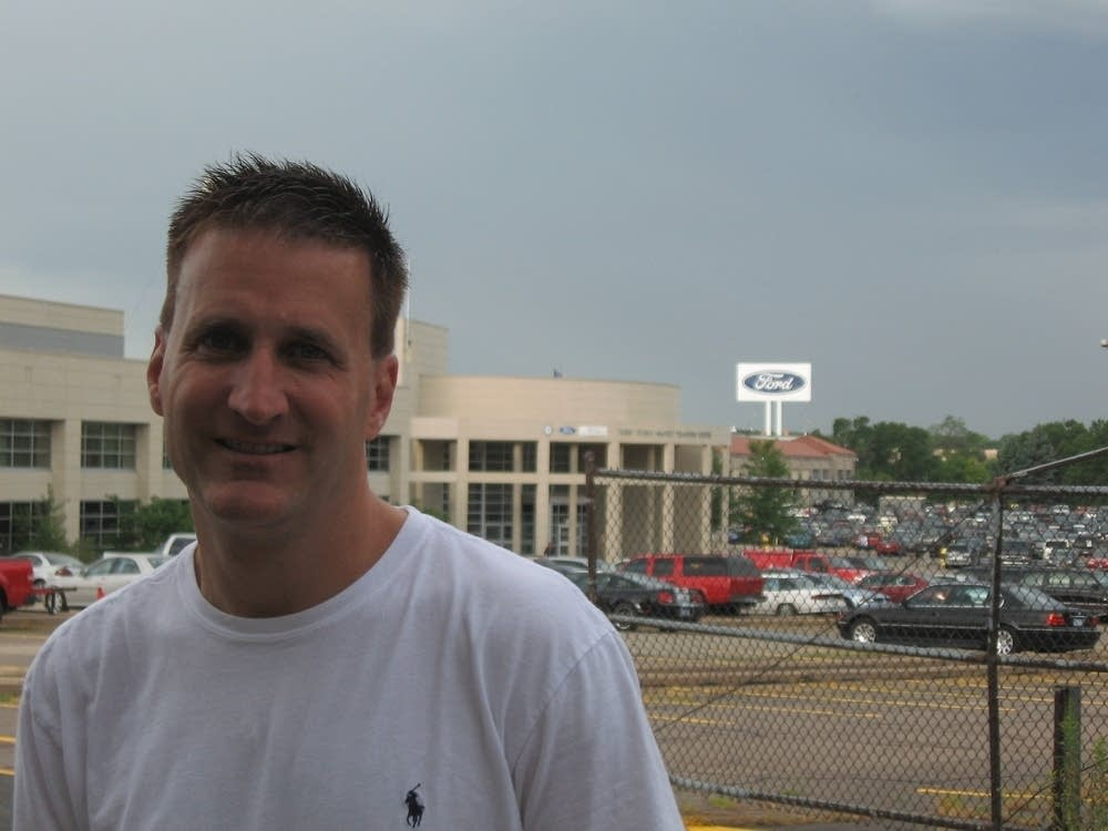 Ford employee Mark Anderson