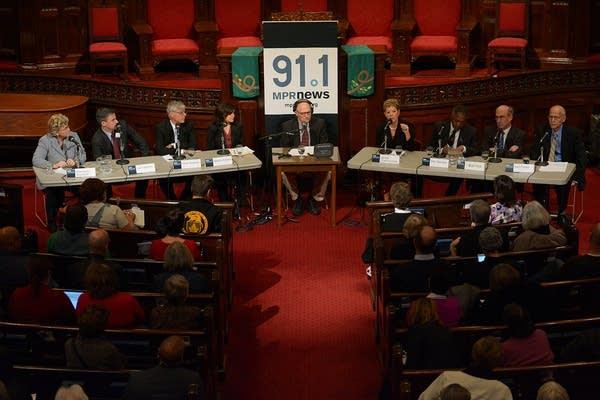Minneapolis mayoral candidates final debate
