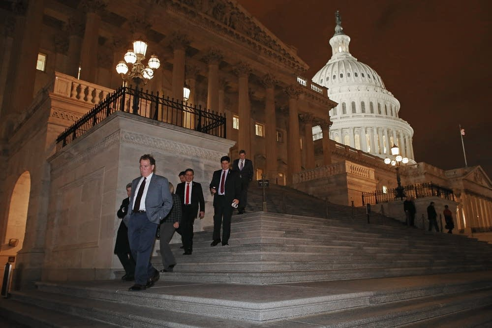 House members leave Capitol