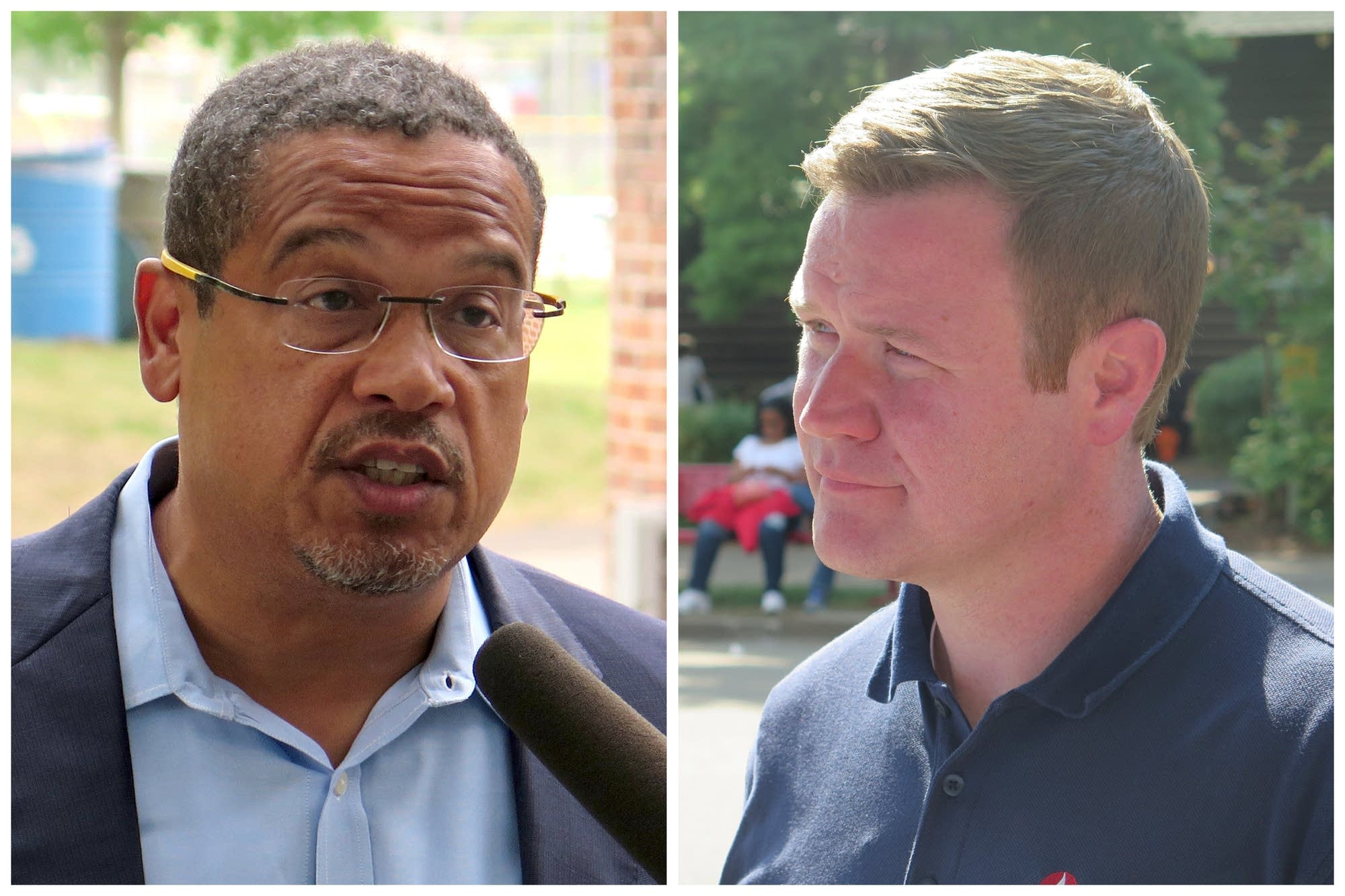 Keith Ellison and Doug Wardlow