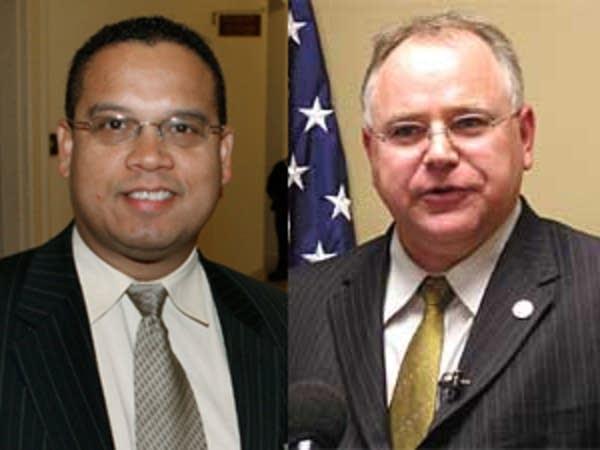 Reps. Ellison and Walz