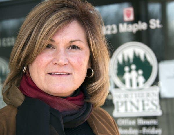 Laura Vaughn, interim dir. of operations at Northern Pines Mental Health