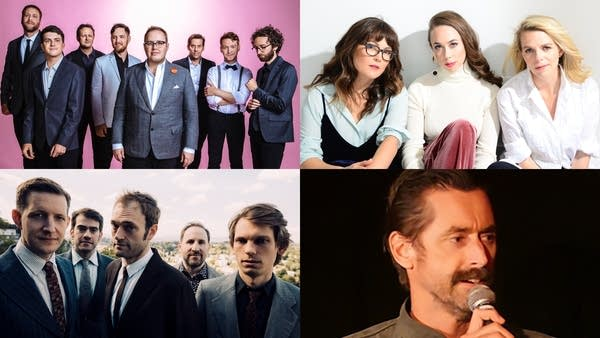 St. Paul & the Broken Bones, I'm With Her, Punch Brothers, Kirk Fox
