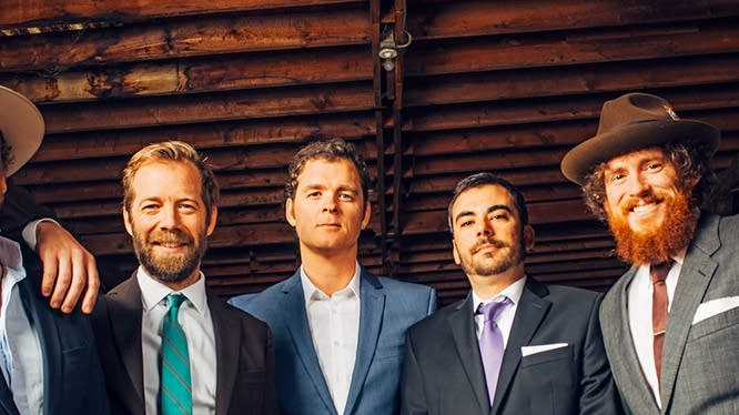 The Steep Canyon Rangers - photo by Sandlin Gaither