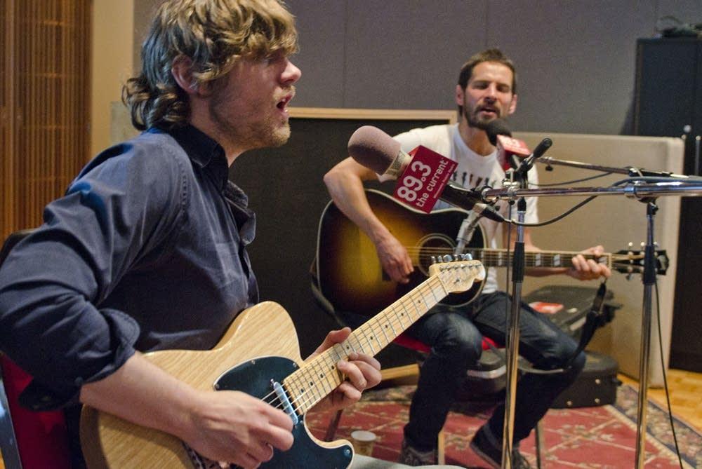 Sam Roberts Band In-Studio