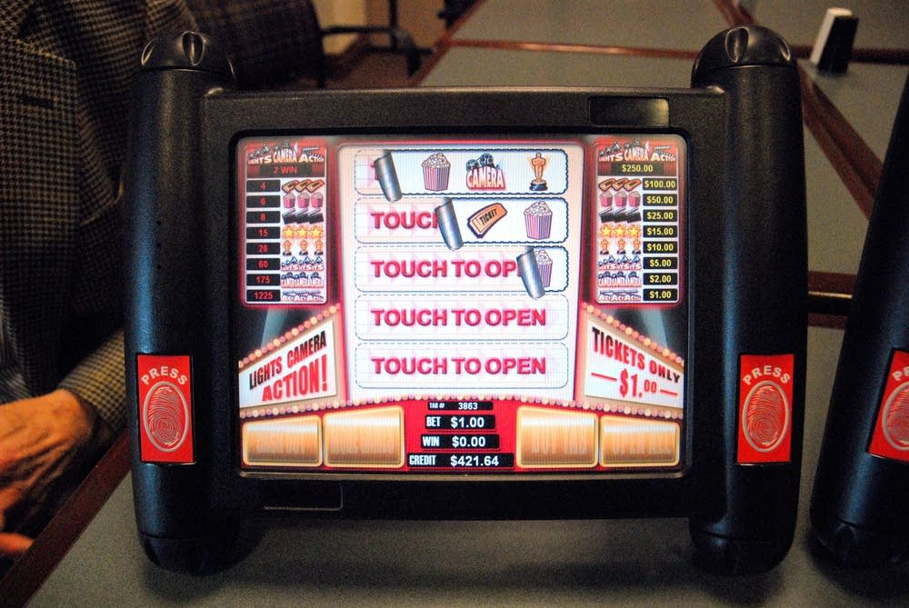 Electronic pull tab