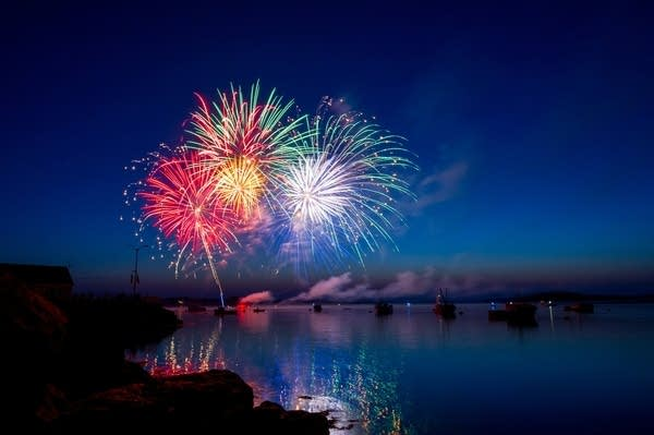 Listen to classical music written and inspired by the sound of fireworks.
