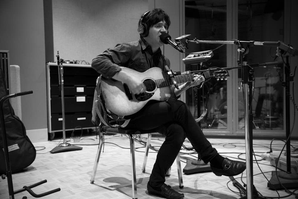 conor oberst and dawes in studio 6