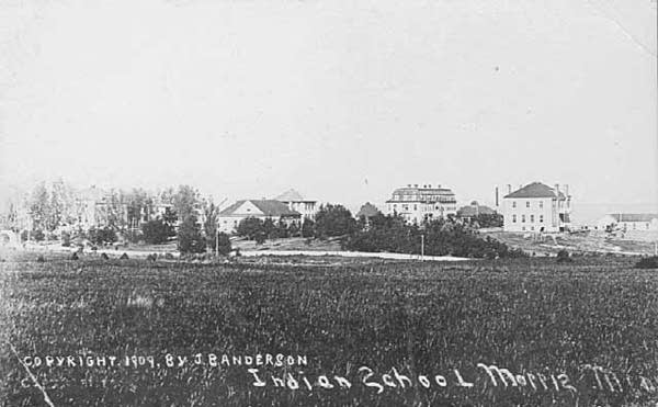 Indian Boarding School, Morris, Minn. (1909)