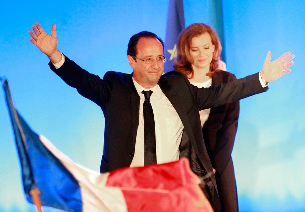 French President-elect Francois Hollande