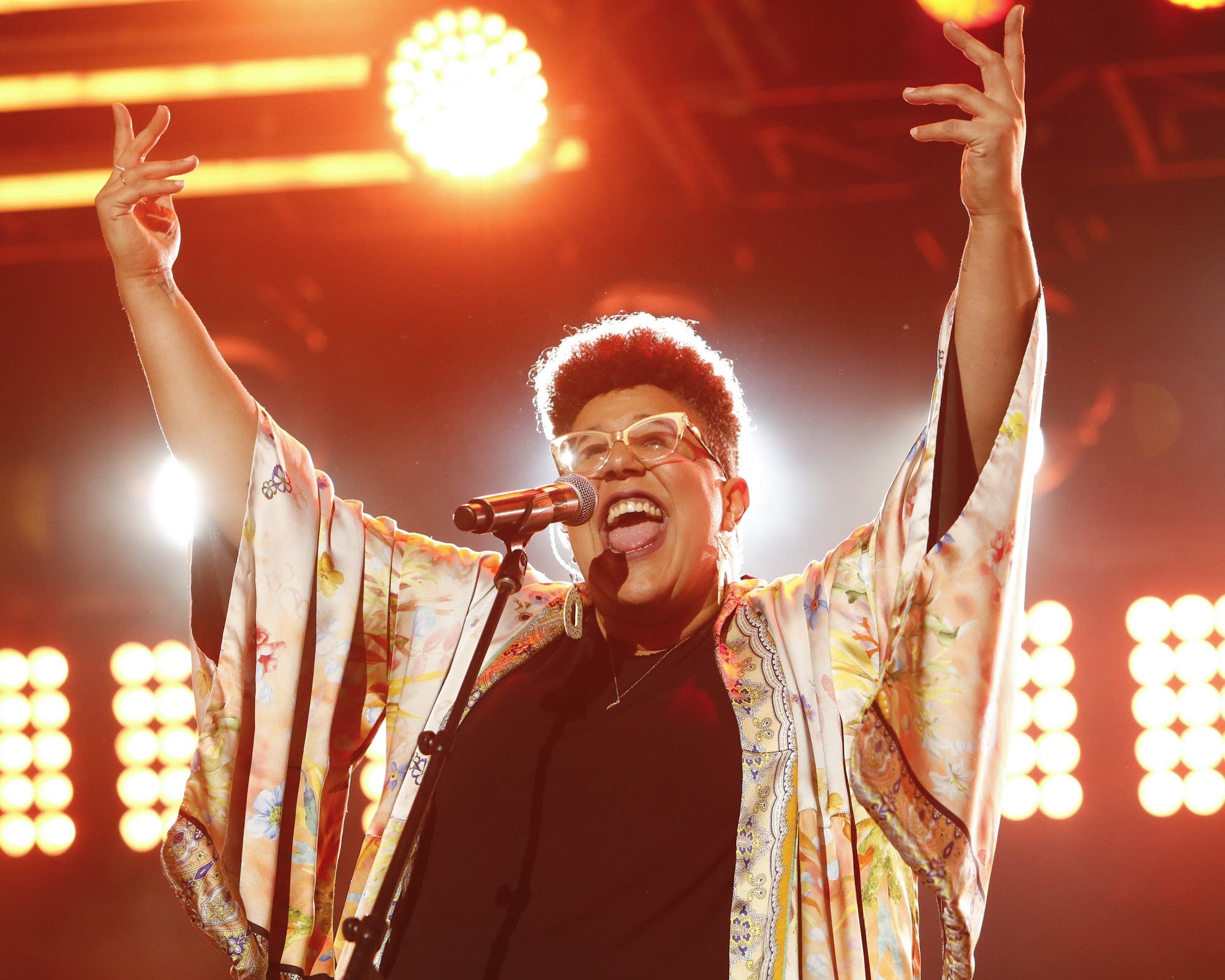 Brittany Howard performing on 'Jimmy Kimmel Live!'