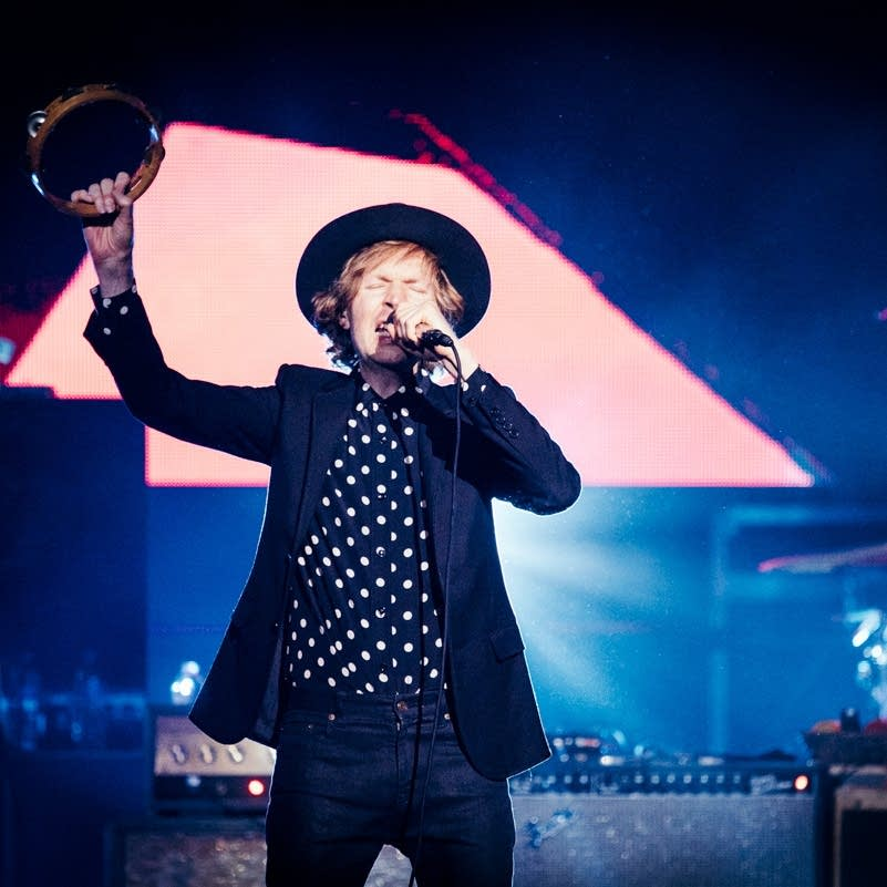 Beck performs at the Palace Theatre.