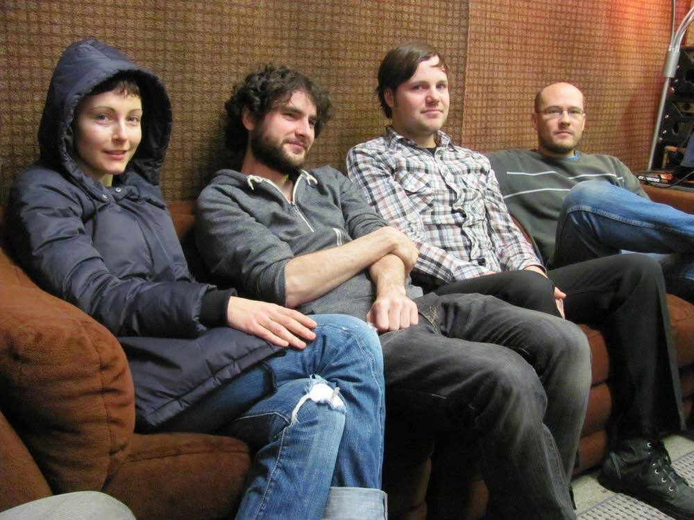 Polica takes a break from rehearsals