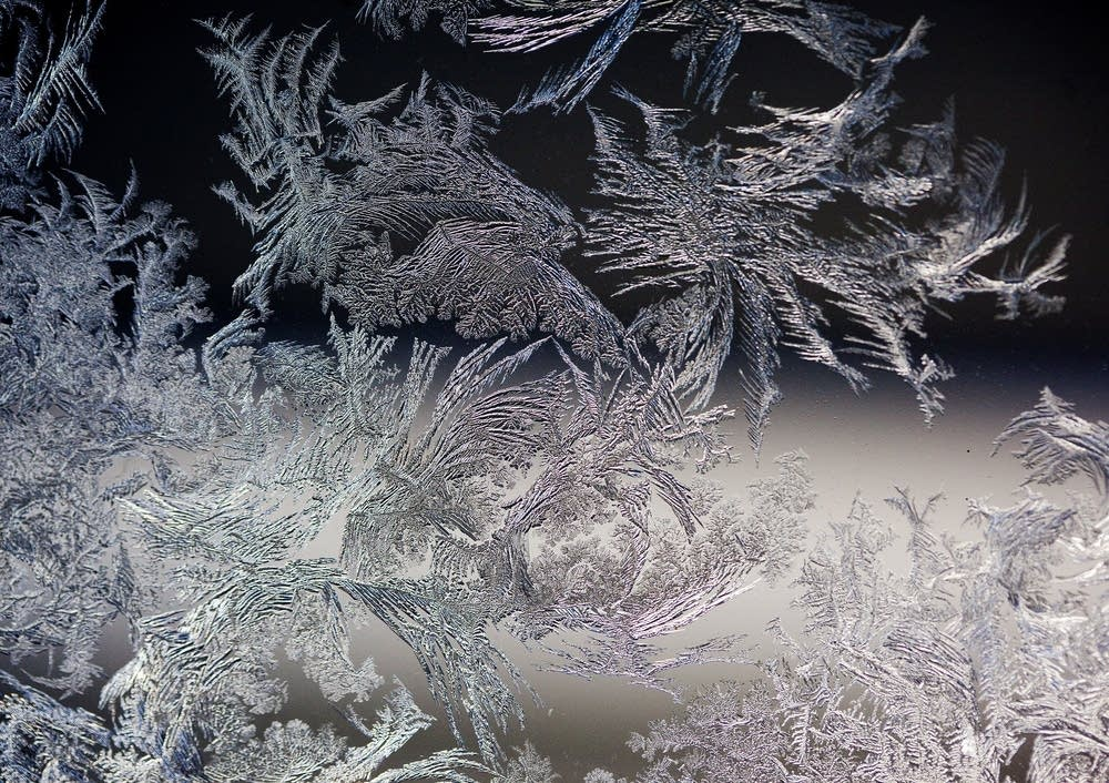 Ice on car windows