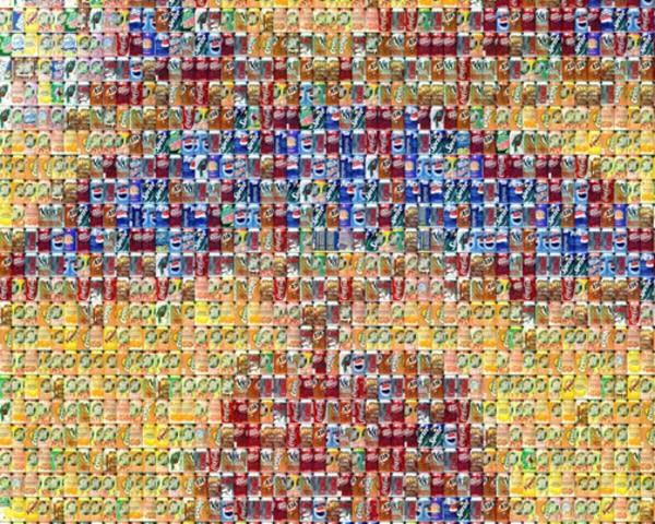 'Cans Seurat' detail