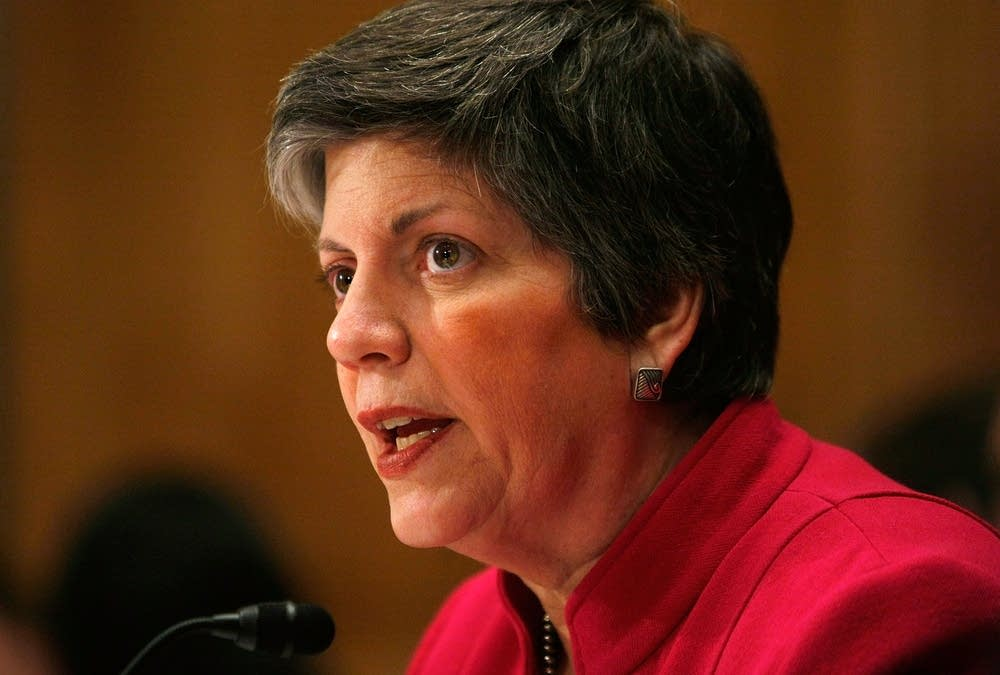 Homeland Security's Napolitano