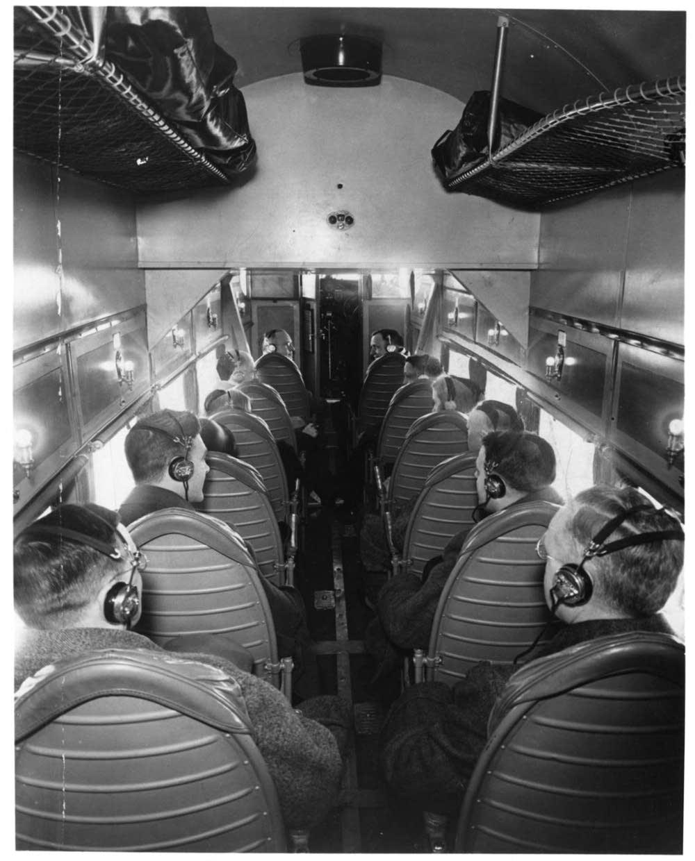 Tri-Motor cabin